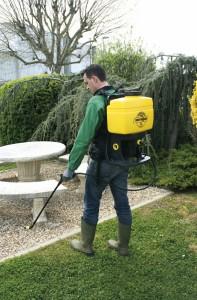 traitement des gazons et des allées - entretien de parking entreprise Grandchamps des Fontaines