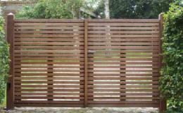 vente et pose de portail bois