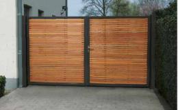 vente et pose de portail bois métal