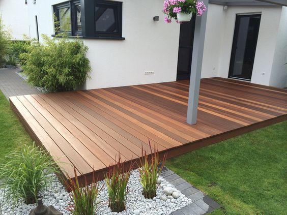 creation terrasse bois